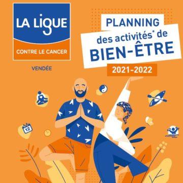 Découvrez le planning des activités bien être 2021-2022