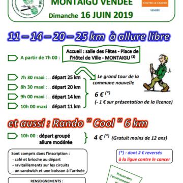 16 Juin : Randonnée pédestre à Montaigu