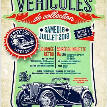 6 juillet : Festi'Rétro à St Denis la Chevasse