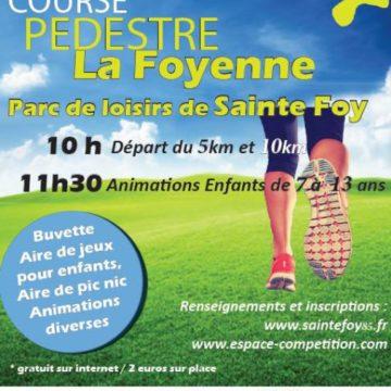 7 juillet : Course nature «La Foyenne» à Ste Foy