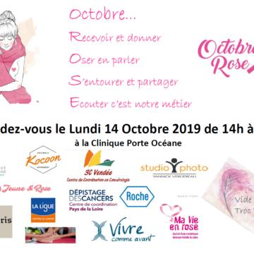 14 octobre : Octobre Rose à la Clinique Porte Océane