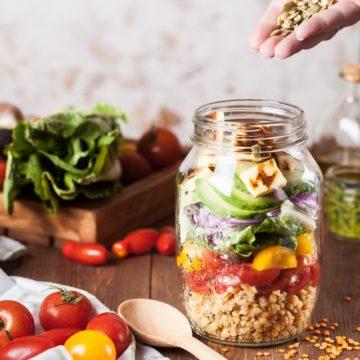 La salade d'été saine et gourmande d'Aurélie, diététicienne à la ligue contre le cancer de Vendée