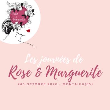 2 et 3 Octobre 2020 : Les Journées de Rose et marguerite