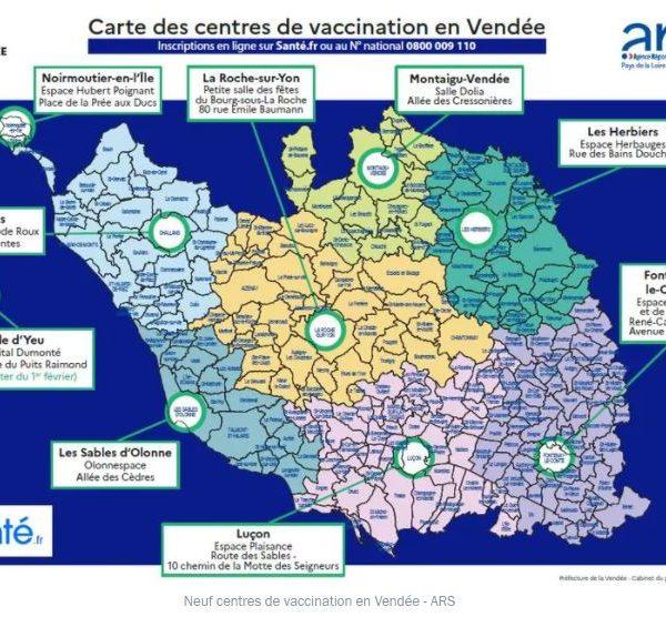COVID-19 : Vaccination des personnes atteintes de cancer en Vendée