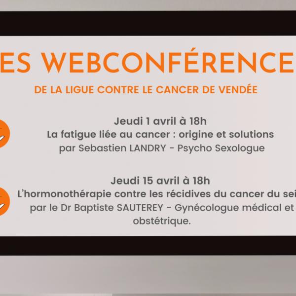 programme-webconference ligue contre le cancer de vendée