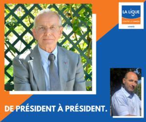Mot pour le président Axel Kahn