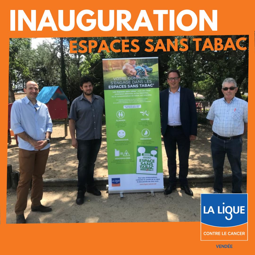 Inauguration Espaces Sans Tabac en Vendée