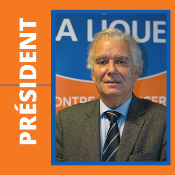 Pr Daniel Nizri, nouveau président de la Ligue contre le cancer