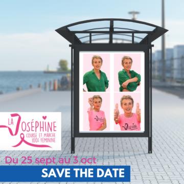 Josselyne, bénévole à l'affiche de la Joséphine 2021