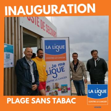 Brétignolles-sur-Mer augmente les Espaces Sans Tabac de son territoire.